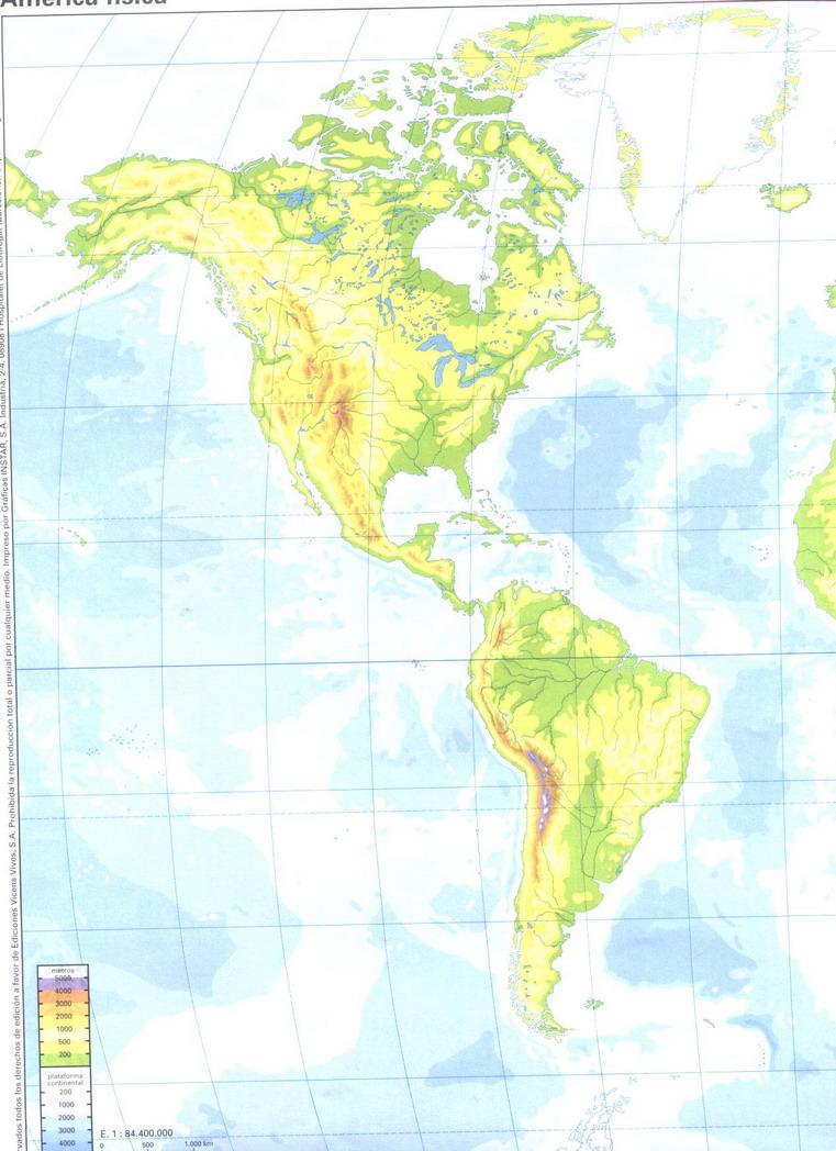 Blog De Los Niños Mapas De España Y Del Mundo Para Niños - America mapa juego