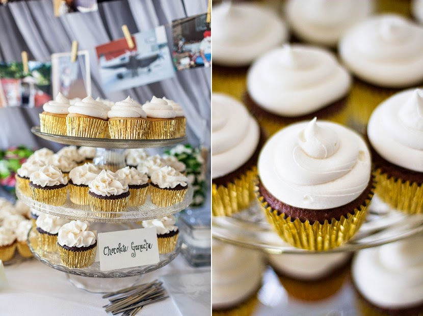cupcakes at wedding photo