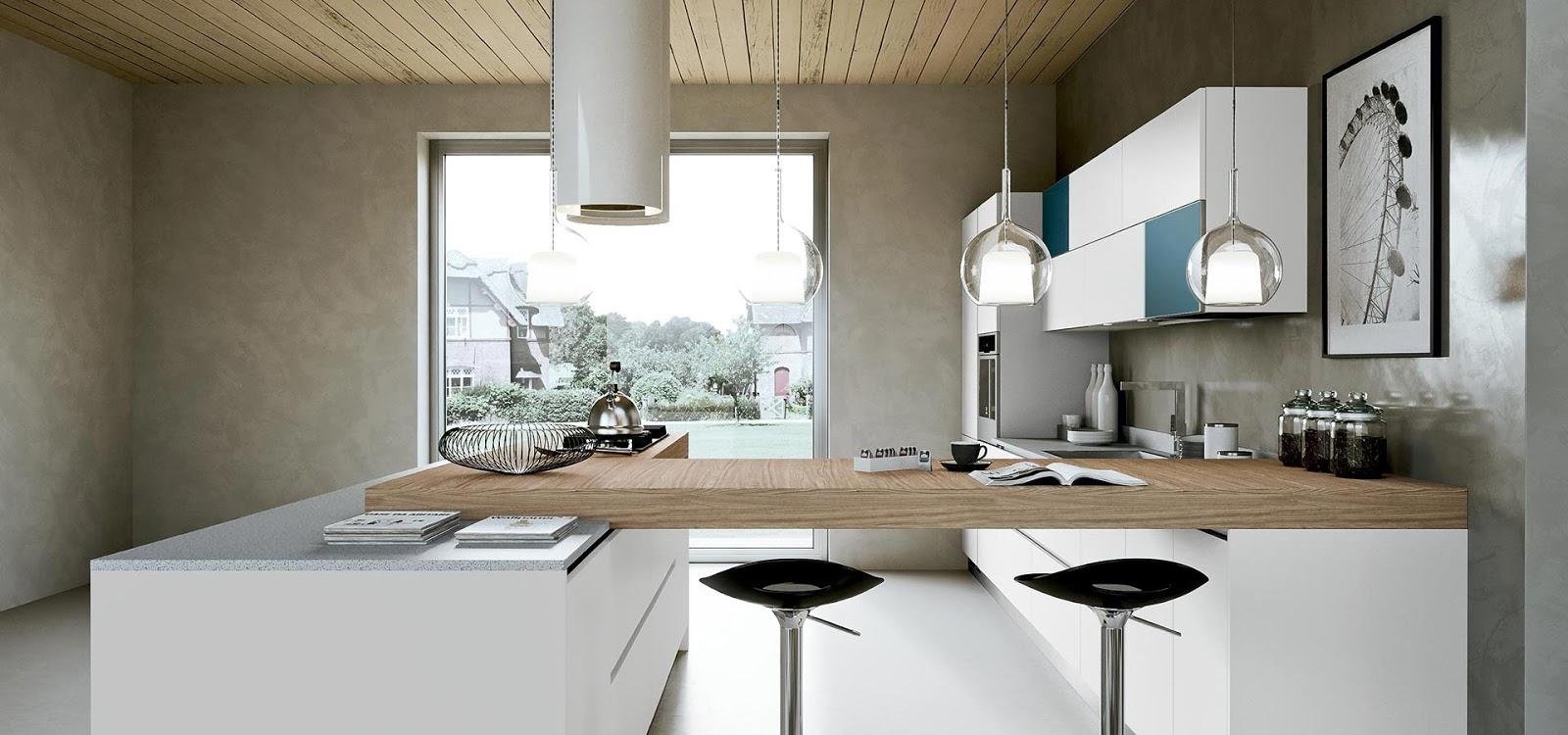 Nowoczesna kuchnia z oknem  Bajkowe Wnętrza -> Aranżacja Kuchni Z Niskim Oknem