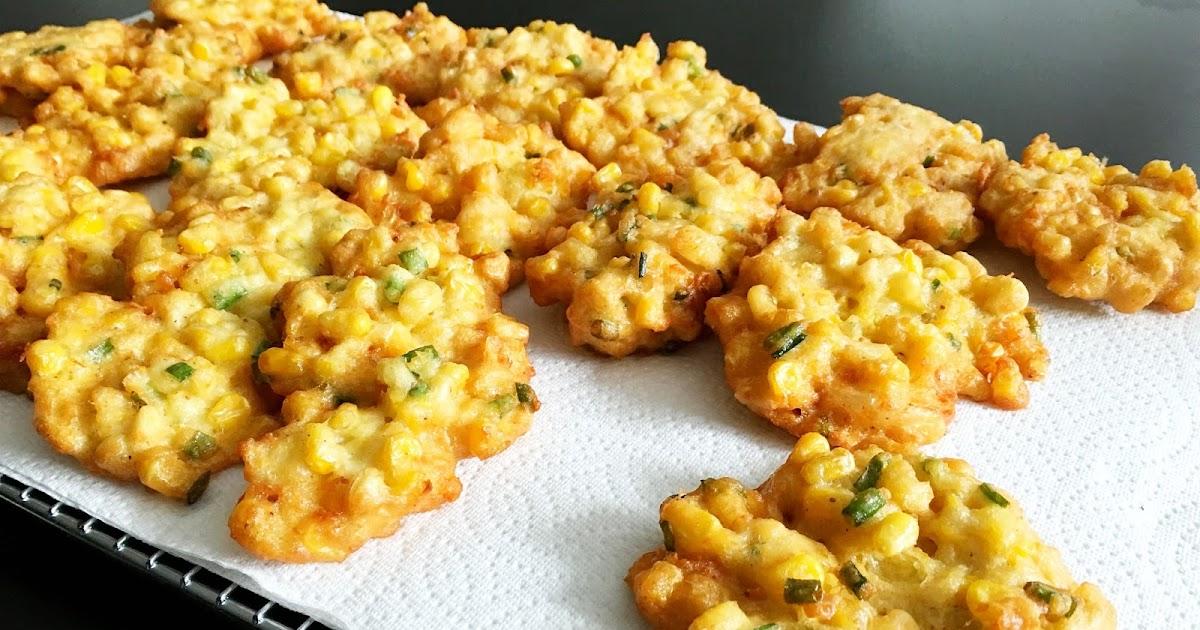 Oma's Perkedel Jagung - Menadonese Corn Fritters
