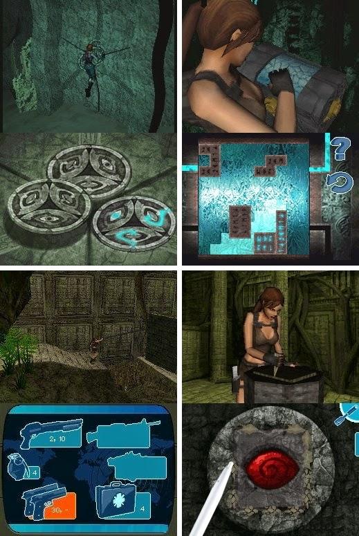 Tomb Raider Underworld game nds rom download free