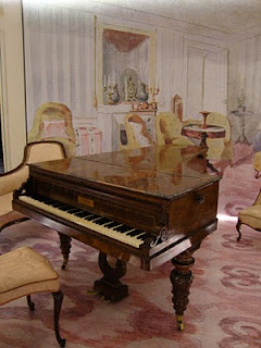 Chopin's Salon at the Chopin Museum, Warsaw, Poland