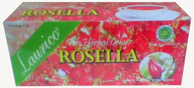 Teh Celup Rosella Laurico