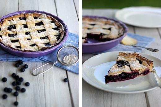 Schwedische Blåbärspaj Blaubeerpie Blaubeertarte Rezept Sommerküchen Mürbeteig Heidelbeeren vegan Holunderweg18 Blog