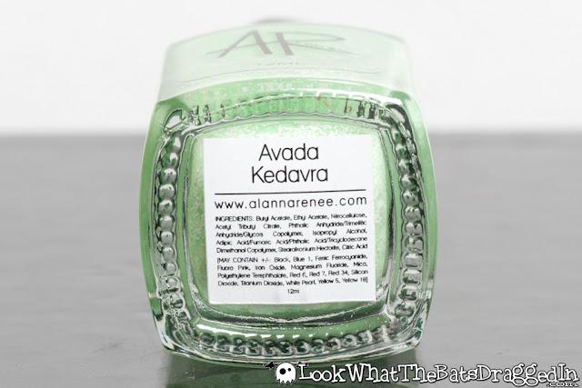 Alanna Renee Avada Kedavra nail polish swatch