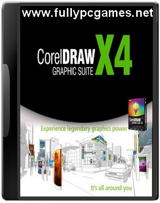 Download aplikasi software corel draw x4