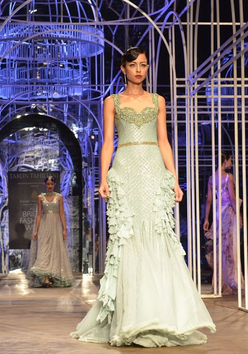 Vega Fashion Mom Tarun Tahiliani At India Bridal Fashion Week 2013