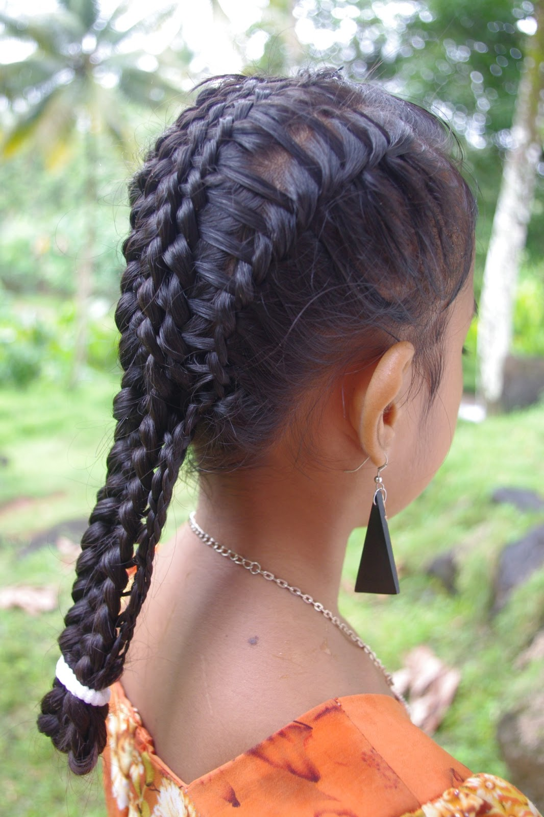 2 strand twist hairstyles : Braids & Hairstyles for Super Long Hair: Micronesian Girl~ Basket ...