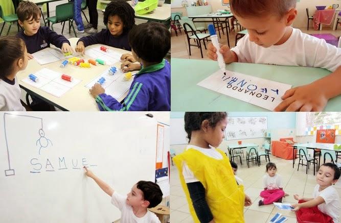 Conhecido Professoras na web: 8 atividades com nome próprio na Educação Infantil KC84
