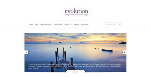 Evolution Wordpress Theme Free Download.