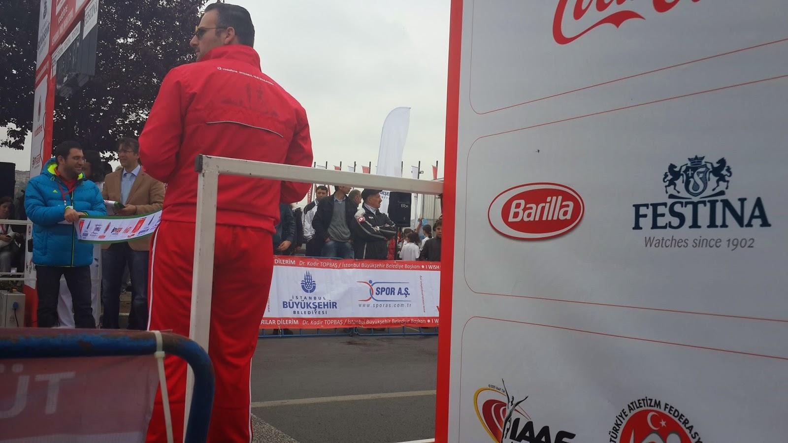Vodafone Yarı İstanbul Maratonu 2014 Nisan Barilla Festina