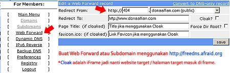 404 Redirect untuk Blogger - Blogspot