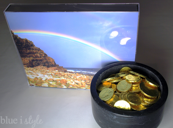 St. Patrick's Day Decor Pot of Gold End of Rainbow