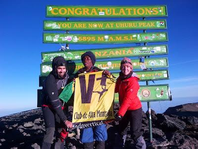 KILIMANJARO 5.895m Uhuru Peak - Sueño cumplido el 24 de agosto de 2013