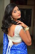 Bindhu latest sizzling saree pics-thumbnail-16