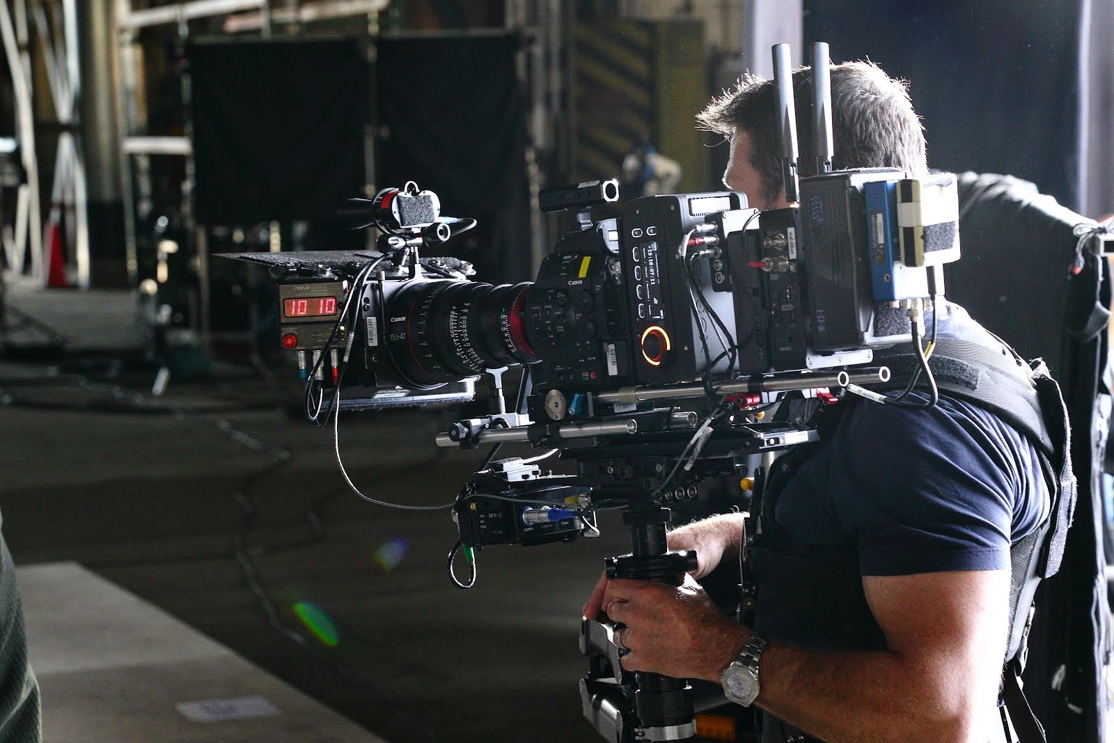 Canon C500 on a Steadicam