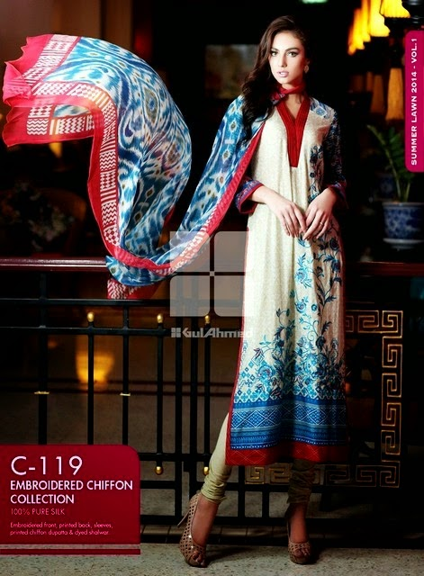 Premium Embroidered and Normal Embroidered Chiffon