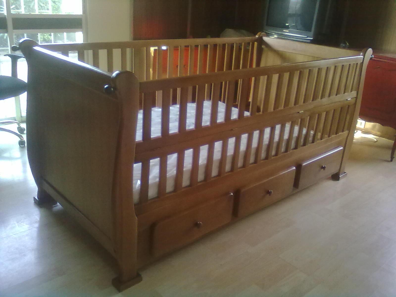 Muebles kotue cama cuna corral 1 plaza for Como hacer una cama de 1 plaza
