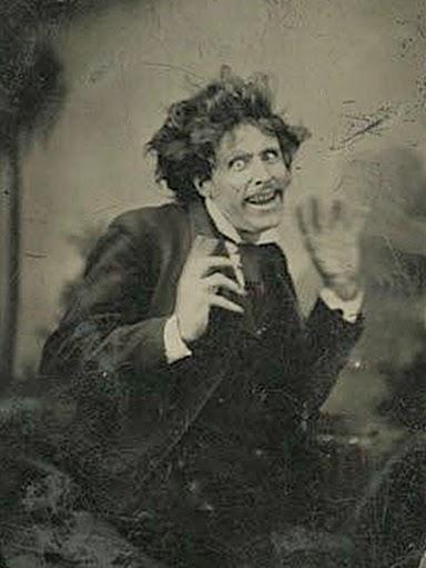 Vintage Tintype Portrait 1875