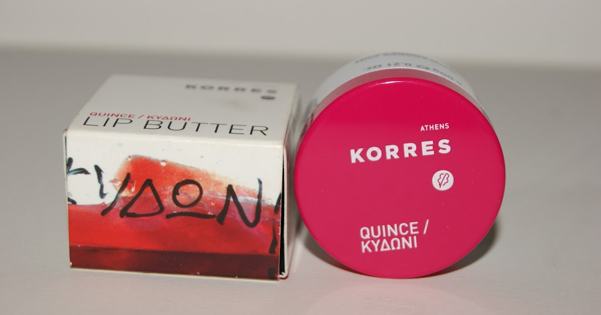 Korres Quince Lip Butter - Review | The Sunday Girl