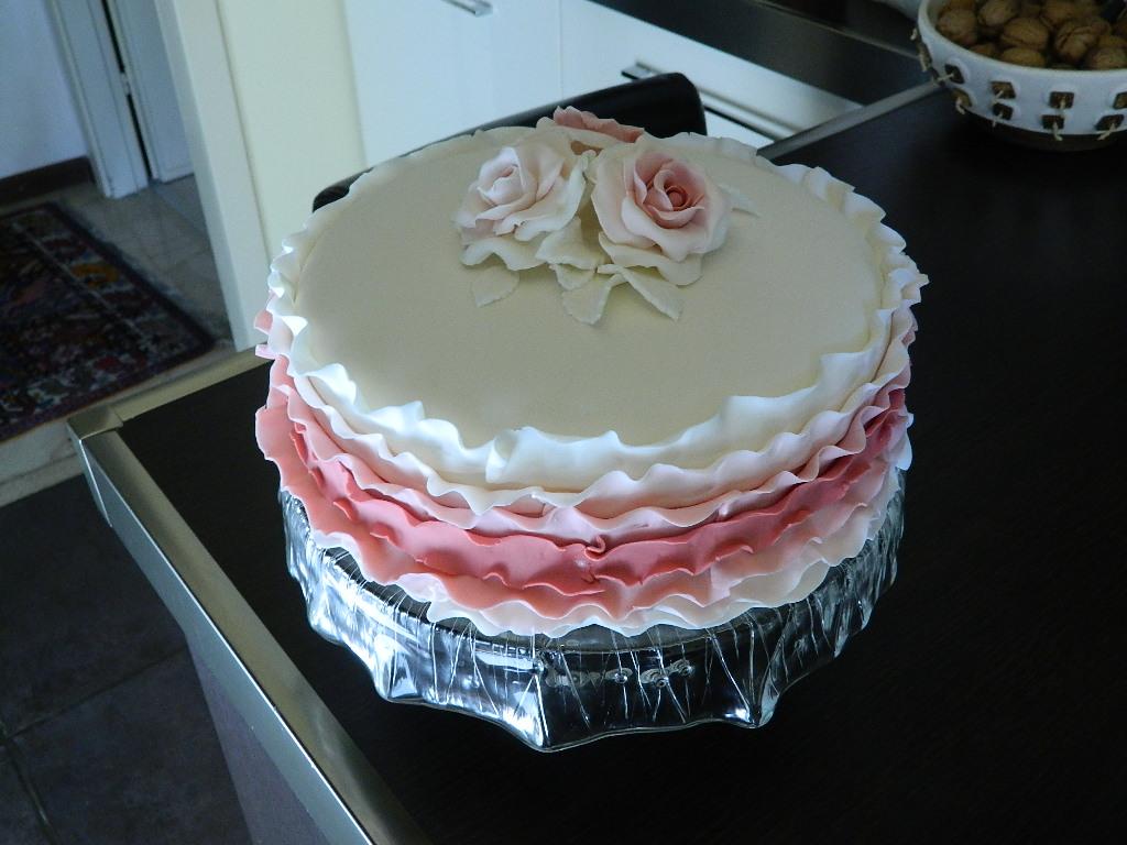 Vale 39 s cake design la spezia torta di compleanno della mamma - Colorazione pagina della torta di compleanno ...