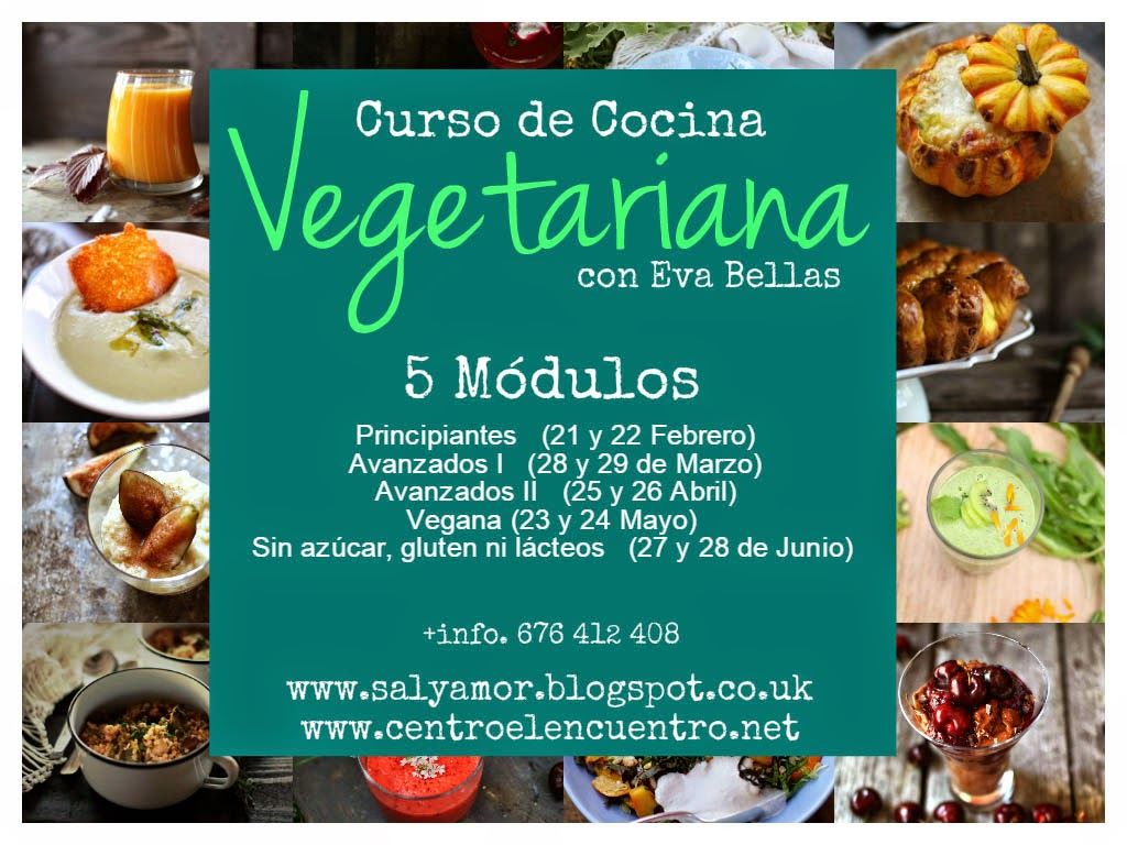 Nuevo Curso De Cocina Vegetariana En 5 Módulos Independientes