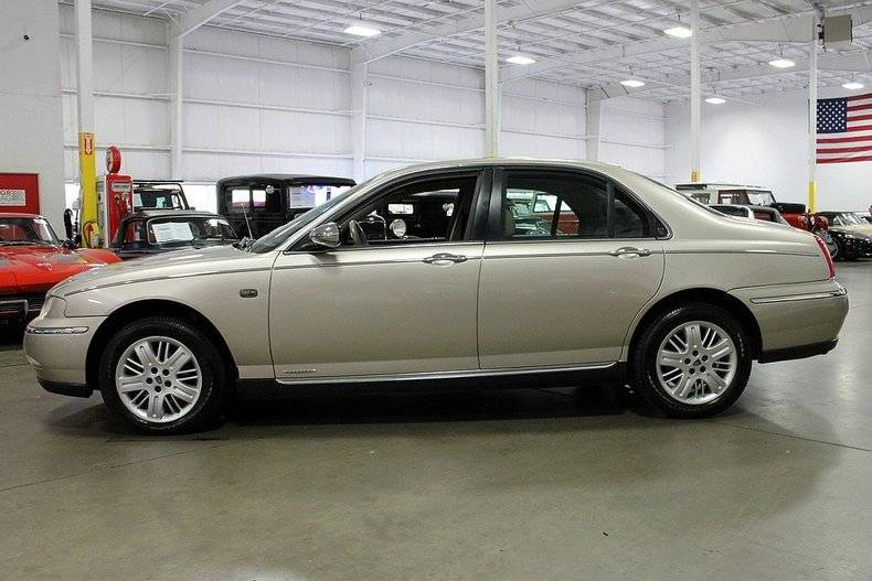 rover 75 was bmw 39 s rolls royce for the working man and. Black Bedroom Furniture Sets. Home Design Ideas