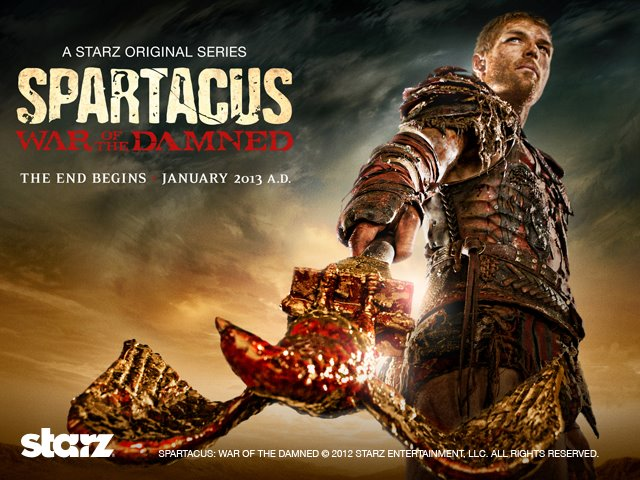 Brent's Movie/TV Blog: Spartacus: A Series You Should Watch!