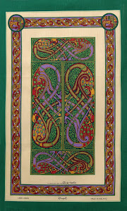 BOOK OF KELLS TEA TOWEL $15