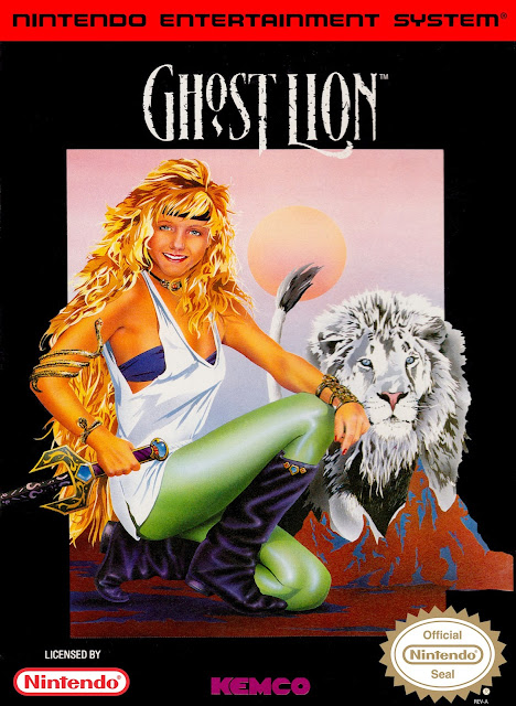 Nintendo NES Ghost Lion box art