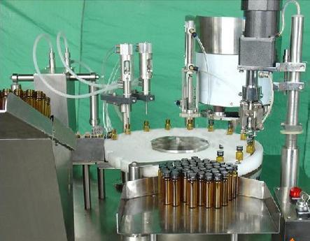 10-35ml oral liquid filling capping machine Auto Abfüll-und Verschließmaschine für Flüssigkeiten