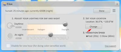 F.Lux v3.10 Aplikasi Untuk Menjaga Kesehatan Mata 2