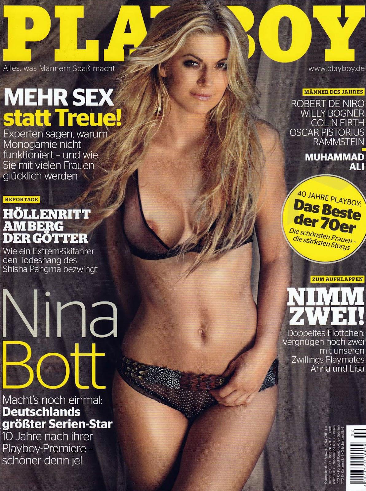 Playboy Alemanha – Nina Bott