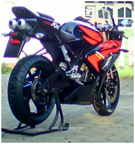 Modifikasi Honda Tiger fairing