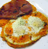 Carla Hall's Eggs in Heaven and my Heavenly Eggs in Hell 11.8.11