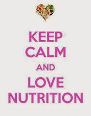 Keep Calm and Love Nutrition