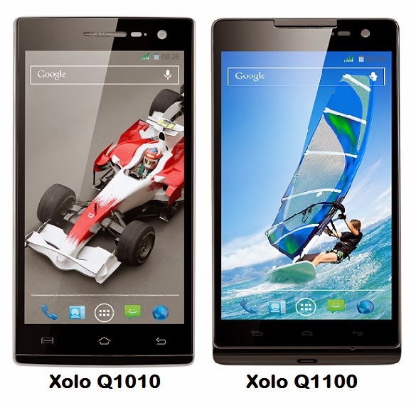 Xolo Q1010 and Q1100 - Price, Features and Specifications