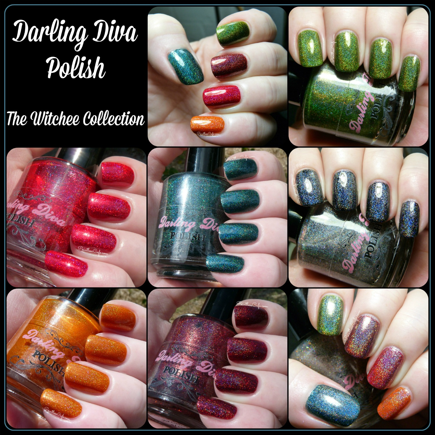 Darling Diva Polish: The Witchee Collection - Fall 2014 | Pointless Cafe