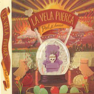 portada Piel y Hueso la vela puerca, cover Piel y Hueso la vela puerca, album Piel y Hueso, portada disco Piel y Hueso la vela puerca