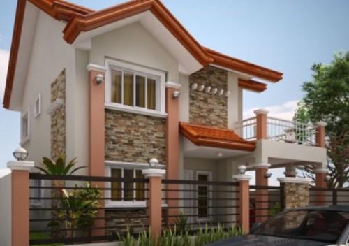 model rumah minimalis bertingkat 2 modern kumpulan model