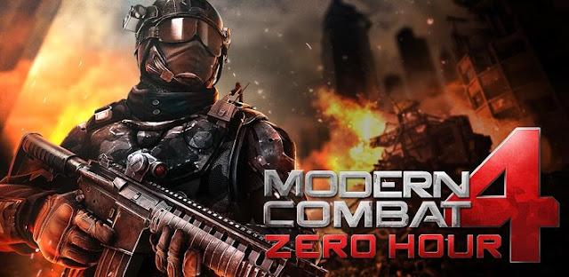 Baixar Jogo para celular Modern Combat 4 Zero Hour (JAVA)