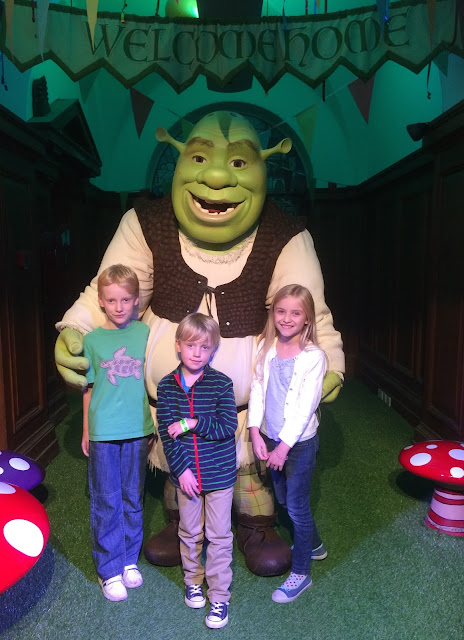 DreamWorks Shrek Adventure London meeting Shrek