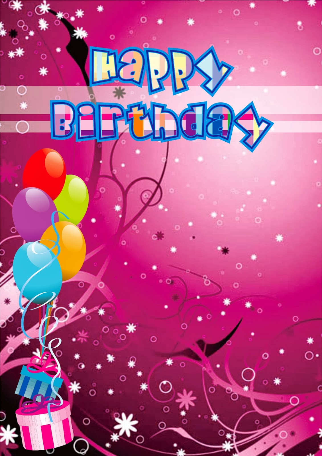 card birthday for friends dengan corel draw x6