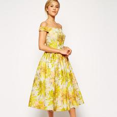 Chic floral dresses