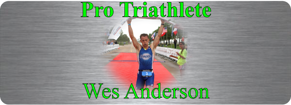 Pro Triathlete Wes Anderson