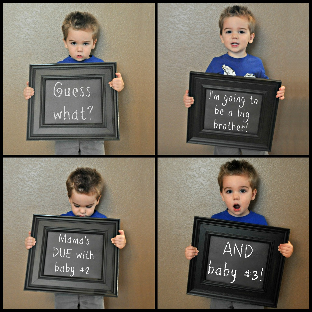 Twins announcement cute ideas Weddingbee – Funny Expecting Baby Announcements