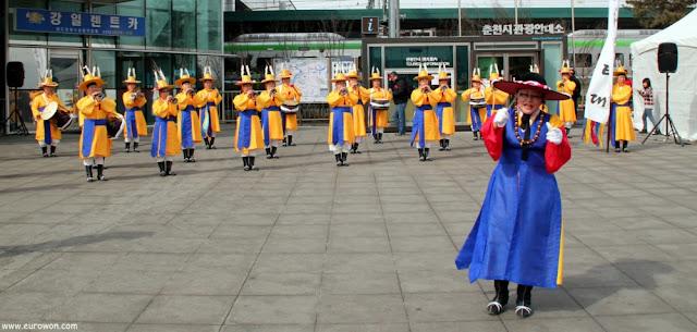 Ceremonia tradicional coreana en Chuncheon