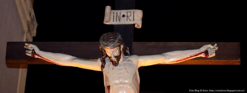 Santo Cristo, del Desenclavo. Cofradía de la Santa Vera Cruz. León. Foto. G. Márquez. 2015