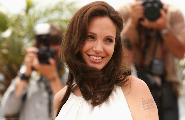 Angelina Jolie Glamour Photo Shoot