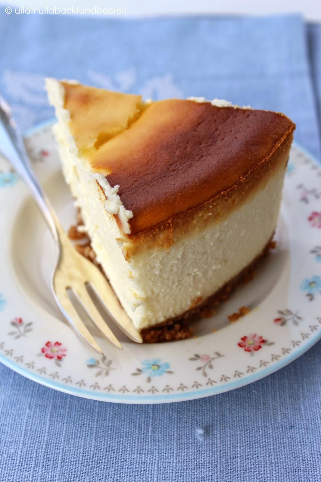 ullatrulla backt und bastelt verr ckt nach k sekuchen rezept f r american cheesecake. Black Bedroom Furniture Sets. Home Design Ideas